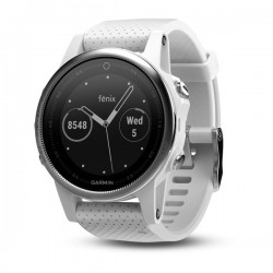 Garmin Fenix 5s With Carrara White Band