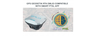 Aplikasi SMART PTSL ternyata bisa dihubungkan dengan GPS EMLID